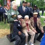 North Avondale Elementary honors alumni WWII vets with bench