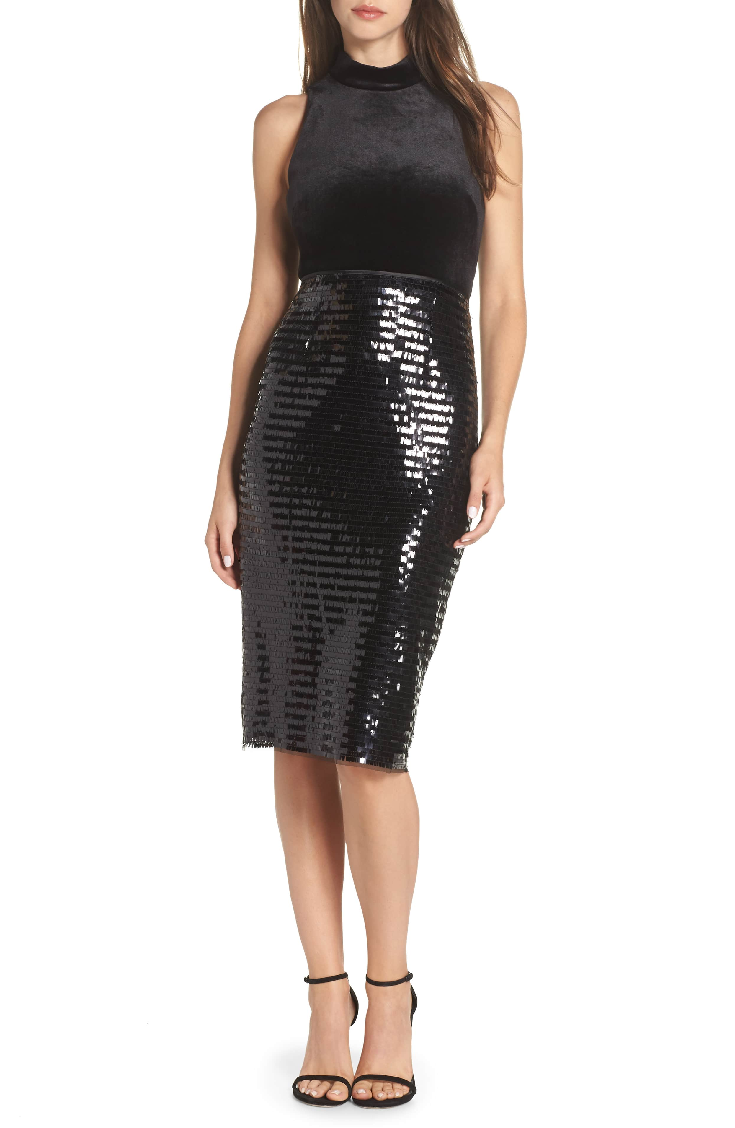 <p>OMGEEEEE, LOVE!{&nbsp;} Help her dazzle them all in this shapely pencil skirt blanketed in lustrous, glittery sequins. $148. (Image: Nordstrom){&nbsp;}</p><p></p>