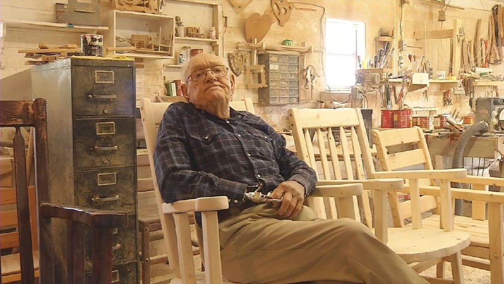 Comanche man defies age, odds, even cancer: making custom furniture ...