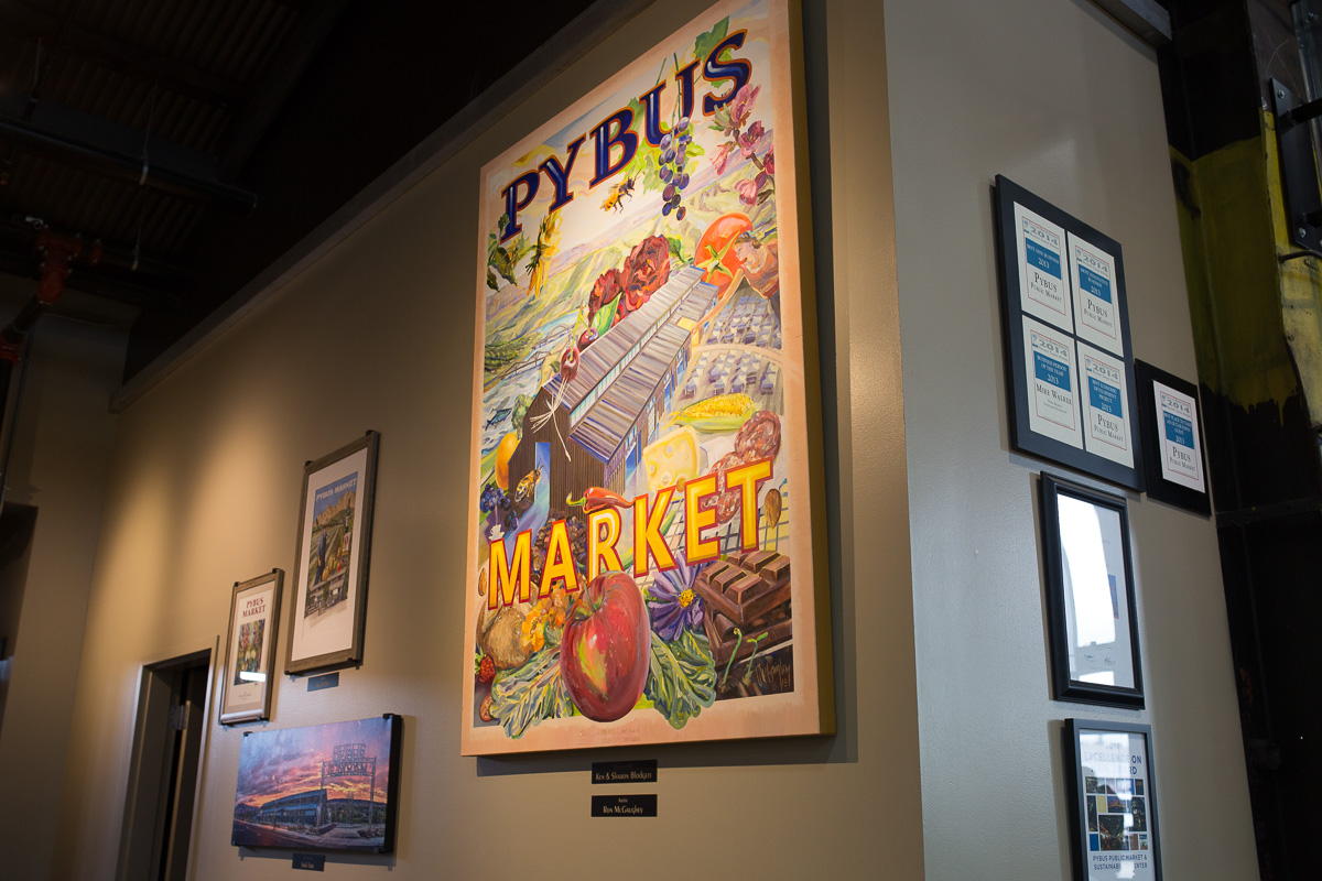Awards at Pybus Market  (Image: Paola Thomas / Seattle Refined)