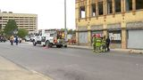 Gas leak forces road closures Downtown