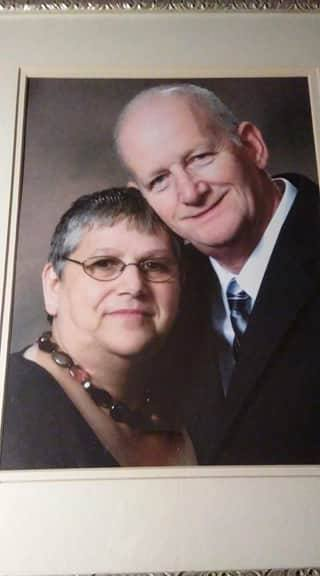 Genest's wife of 39 years, Penny, died suddenly in February 2011. He says running got him out of the house and helped him deal with his grief (Courtesy: Allyn Genest).<p></p>