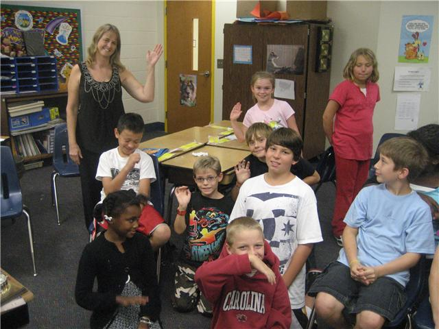9/29/10...Chapin Elementary School Fourth Graders