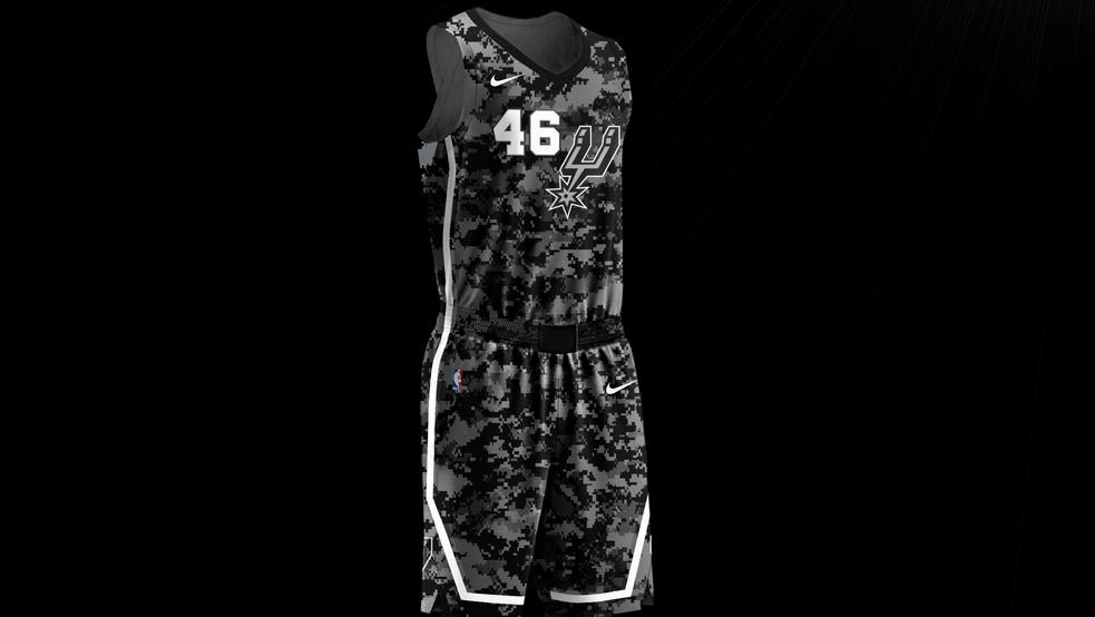 Spurs New City Edition Jerseys Pay Tribute To Military