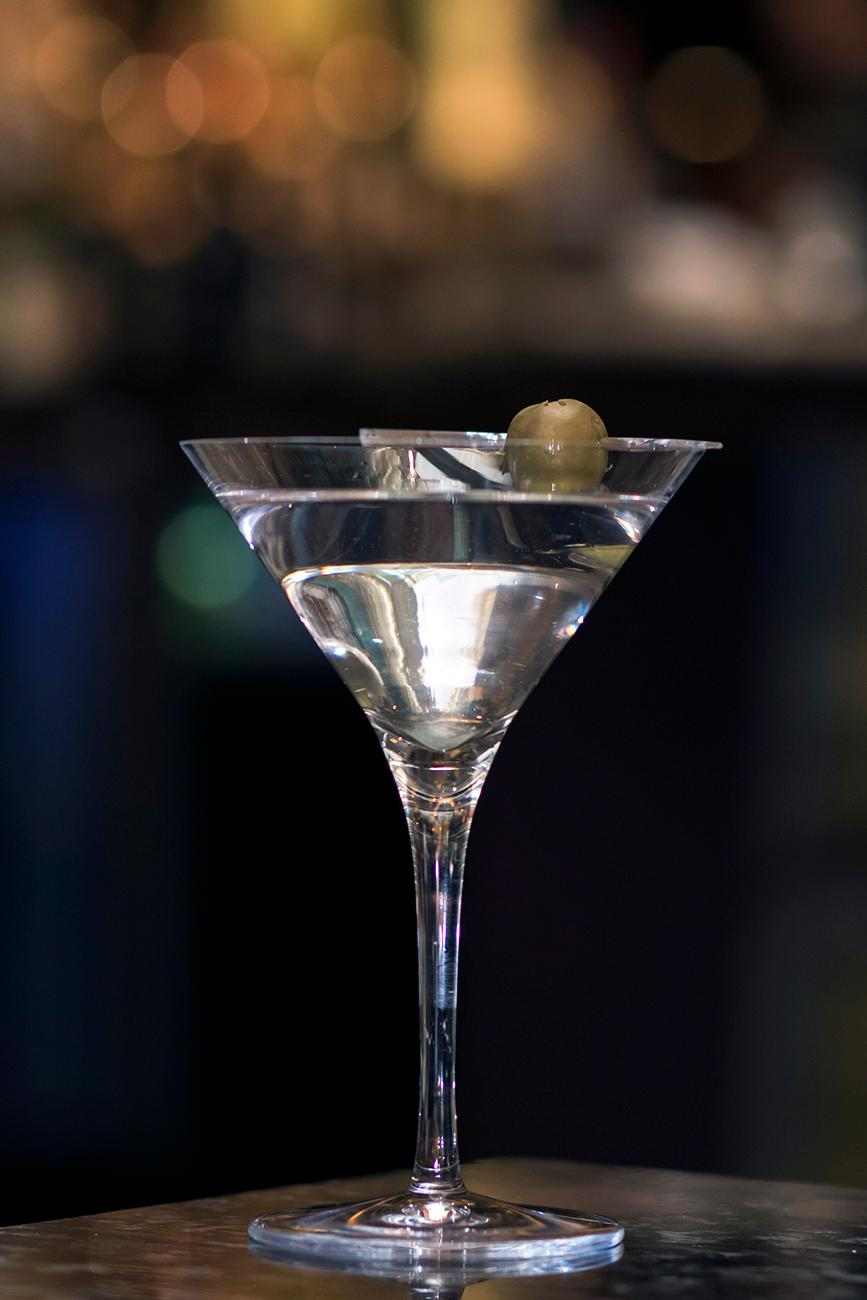 Martini with choice of Tanqueray or Stolichnaya / Image: Allison McAdams // Published: 1.31.18<p></p>