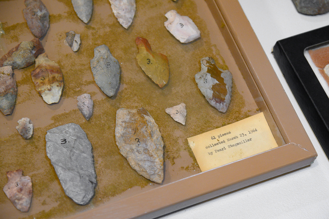 Arrowheads from the area collected in 1964 by Pearl Stegemiller / Image: Phil Armstrong, Cincinnati Refined // Published: 1.7.20