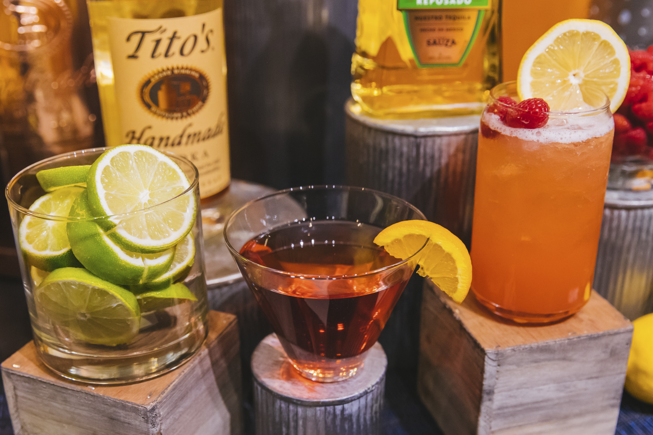 Classic Cosmo, $14. Tito's Handmade vodka, orange liqueur, fresh lime juice and cranberry juice. (Loge Boxes, Diamond Club). We snuck in a little preview of the beer, wine and spirits offerings for the 2020 Seattle Mariners season at T-Mobile Park! Home Opener is March 26 at 1:10 p.m. agains the Rangers. Go M's! (Image: Sunita Martini / Seattle Refined)