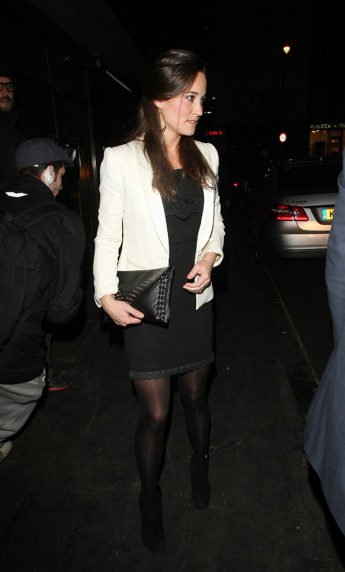 Pippa Middleton leaves Roka restaurant London, England - 09.11.12  Featuring: Pippa Middleton Where: London, United Kingdom When: 09 Nov 2012 Credit: WENN