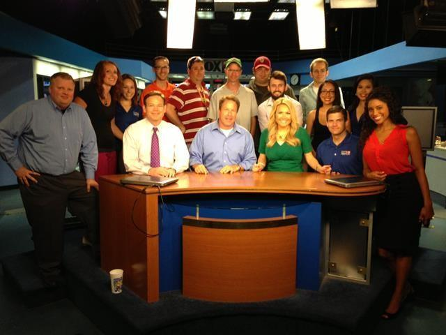 On Wednesday, the FOX 25 staff gathered for one final picture to say goodbye to Jaime Cerreta.