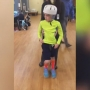 Young boy makes remarkable recovery after serious crash