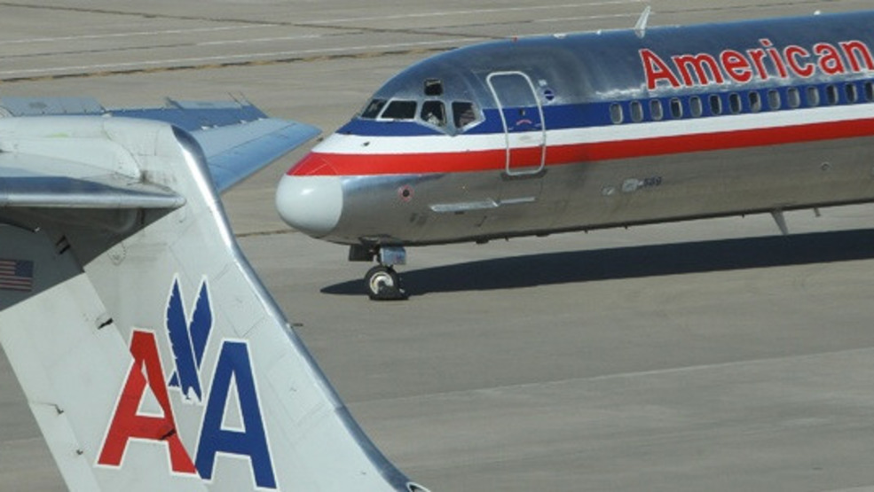 Computer Glitch Affecting American Airlines Flights In Out