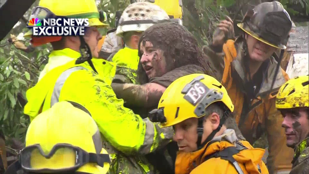 Watch Crews Work For Six Hours To Rescue 14 Year Old From California Mudslide Woai