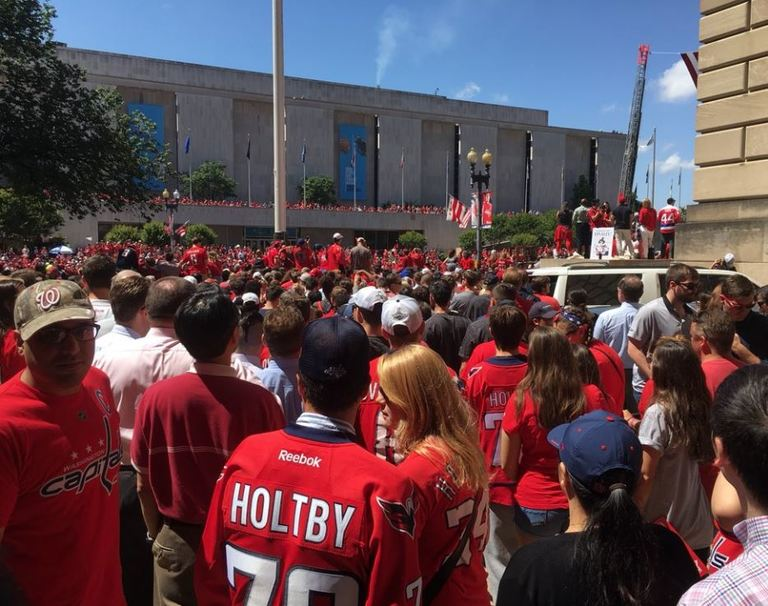 Capitals' Stanley Cup victory parade taking over D.C. (Photo, ABC7)