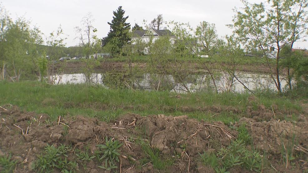 A Morrow county couple can now use their driveway without having to tread pond water. (WSYX/WTTE)<p></p>