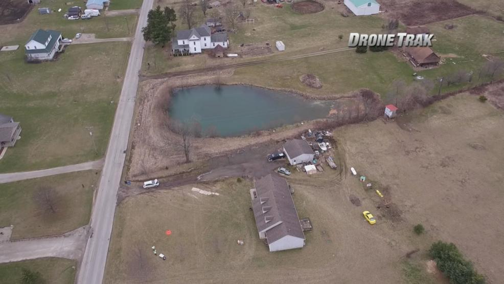 A Morrow County family reached out to 6 On Your Side for help after they say a man-made pond next door has flooded their driveway. (WSYX/WTTE)<p></p>