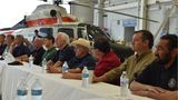 Sen. Ted Cruz, House Speaker Paul Ryan, Sen. John Cornyn in SETX and briefed on Harvey