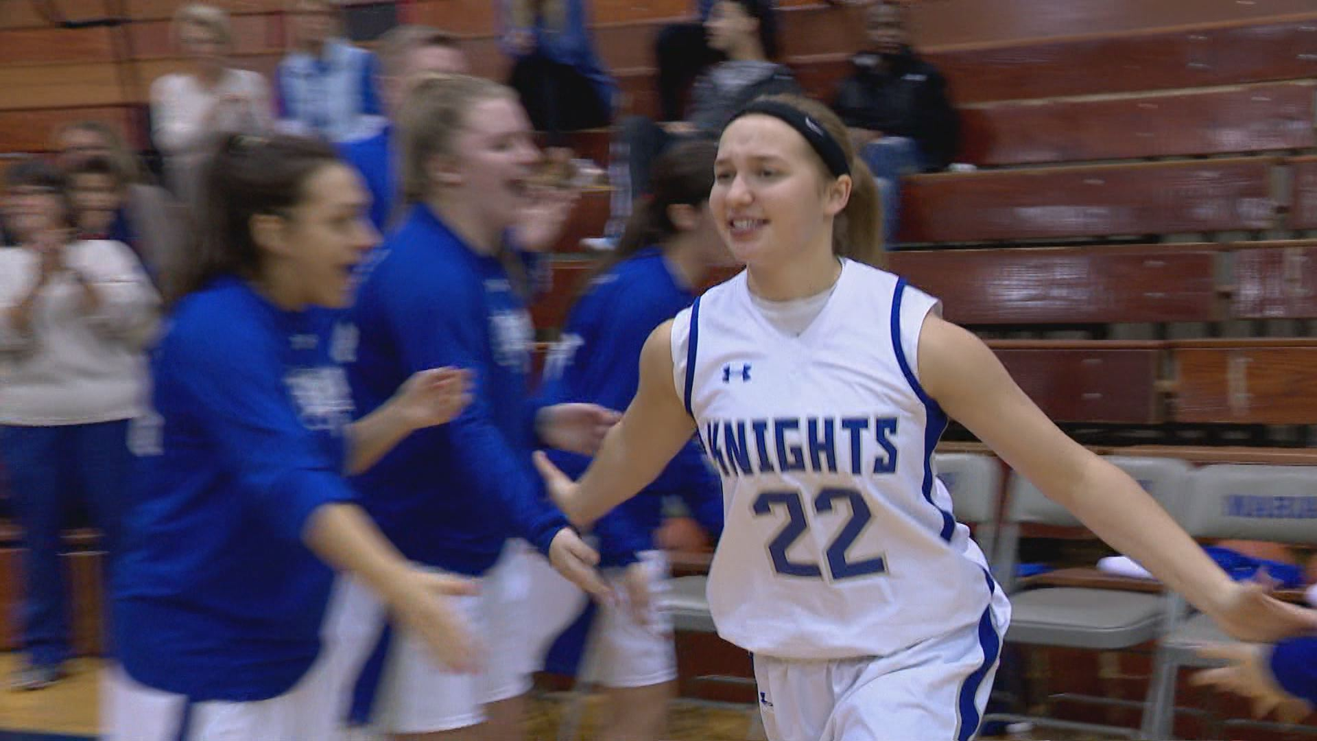 Marian's Meghan Urbanski named Burger King Outstanding Student Athlete // WSBT 22 Photo<p></p>
