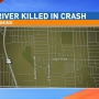 Driver killed after crashing into power pole in Wyoming