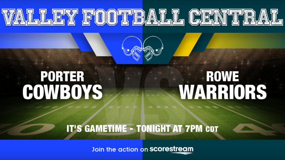 Watch Live: Brownsville Porter Cowboys at McAllen Rowe Warriors