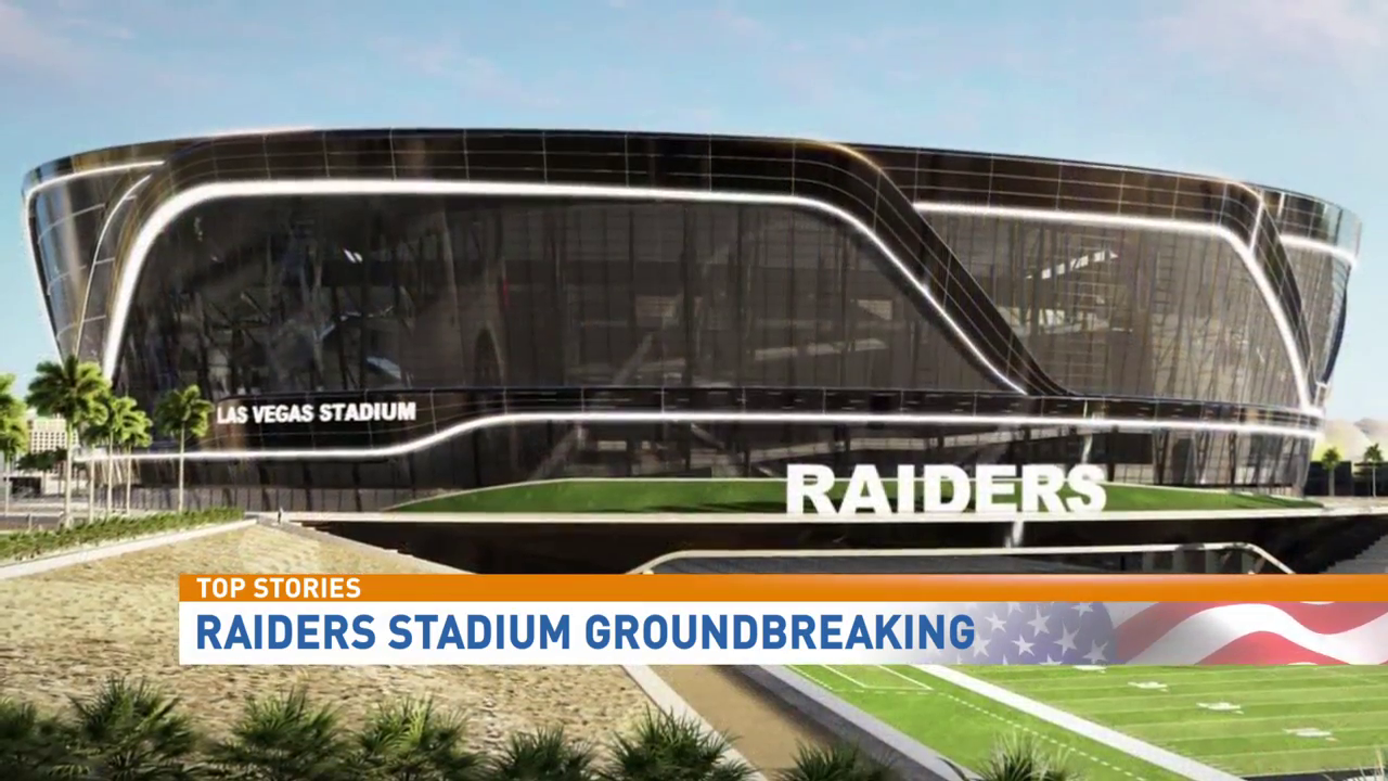 #RaidersAuthority: Groundbreaking for Las Vegas stadium happening today (KSNV file)