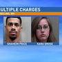 Two taken to jail after traffic stop in Wheeling