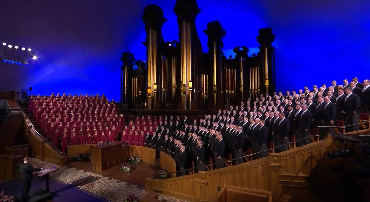 The Tabernacle Choir at Temple Square{&nbsp;}(Photo: YouTube / screengrab)<p></p>