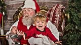 [GALLERY] 'Tis the season: Kids with Santa