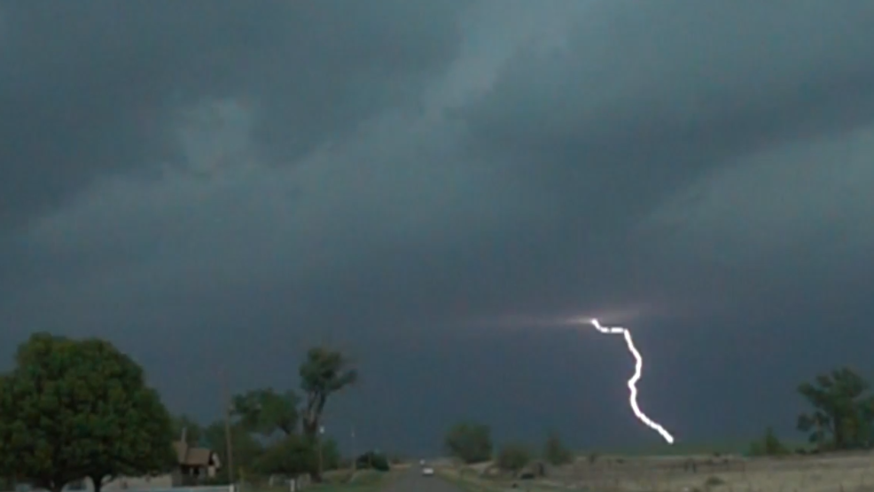 Inside the Storm: Lightning ravages during Oklahoma storms