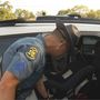 Highway Patrol strapping children in for National Child Passenger Safety Week