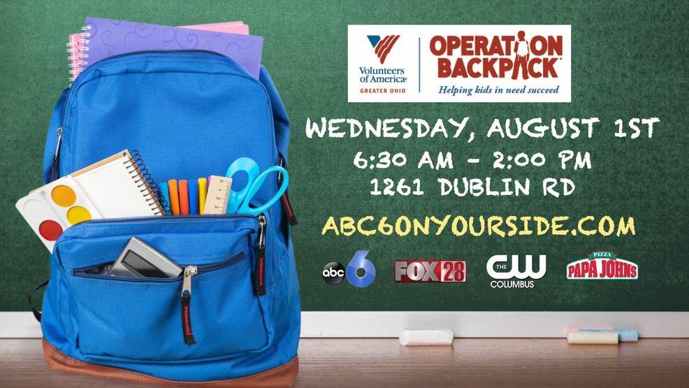 Backpack giveaways columbus ohio 2018