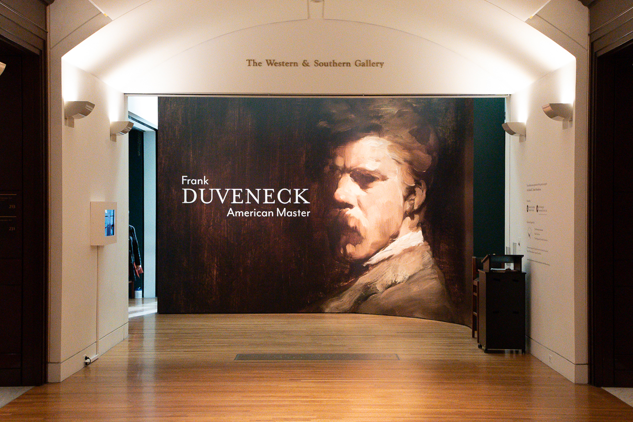 <p>Frank Duveneck: American Master will be open to the public December 19th & 20th, and December 26th & 27th. It will be on display until March 28th, 2021 after the museum fully reopens. It is a ticketed exhibition and free to members. / Image: Phil Armstrong, Cincinnati Refined // Published: 12.19.20</p>