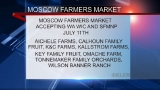 "On July 11 vendors at Moscow Farmers Market will accept WA ""WIC"" & SFMNP"