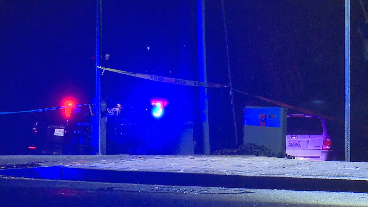 Two police officers shot; suspected shooter killed near Seattle Sunday, December 17, 2017 (KOMO)