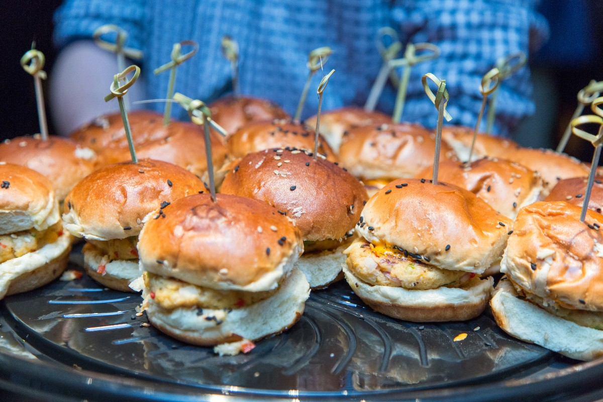 Lamb sliders. They were divine. (Image: Daniel Smyth Photography)