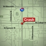 Five hurt in multi-vehicle rollover crash on I-41 in Grand Chute