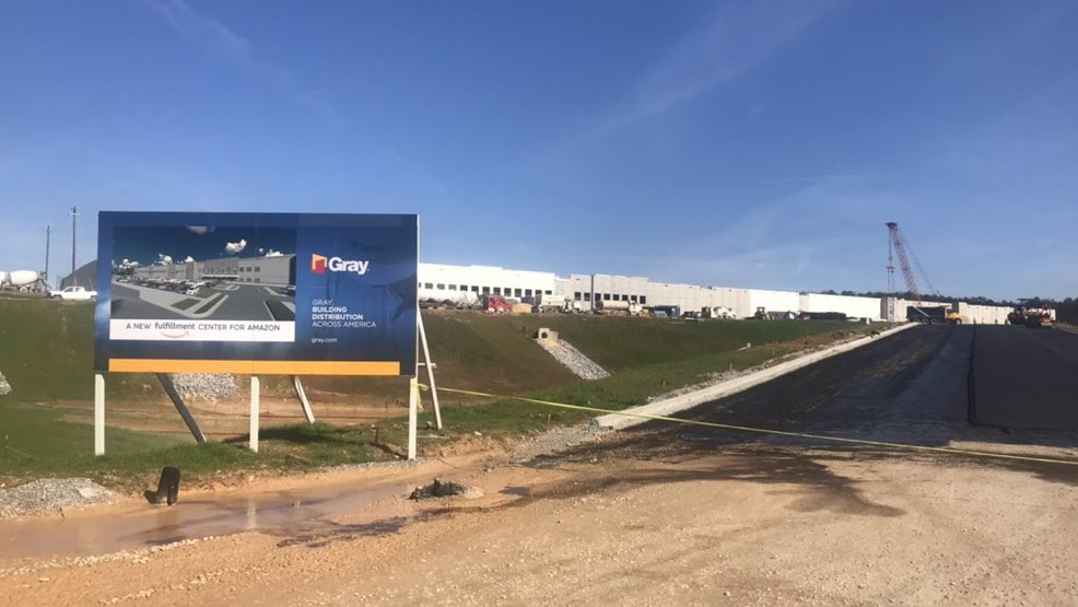 Amazon Fulfillment Center in Bessemer on track to open in