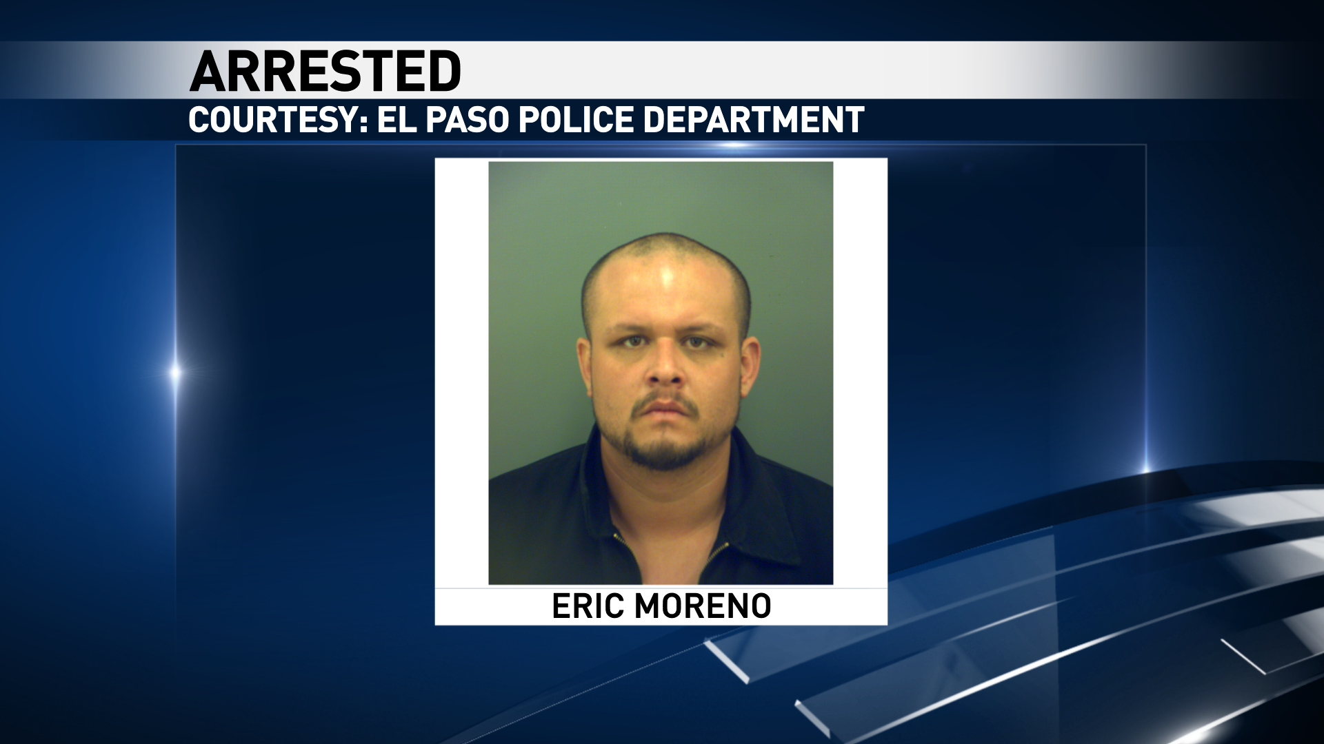 Eric Moreno{&amp;nbsp;}is accused of robbery. Courtesy: El Paso Police<p></p>