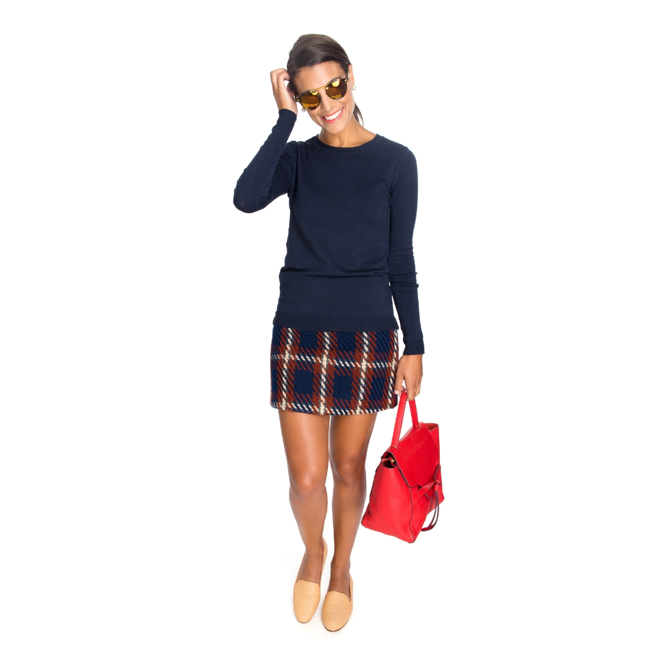 English Factory, Plaid Prep Mini Skirt, $78 (Tuckernuck)