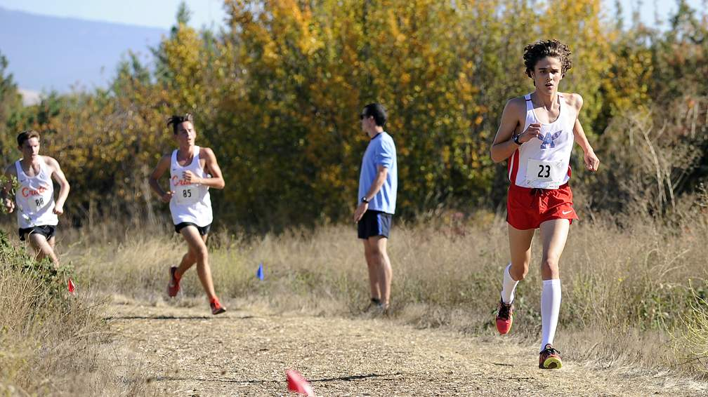 Midwestern League Cross Country Championships at at Hagler-James Park in Talent 10-25-17. - Andy Atkinson