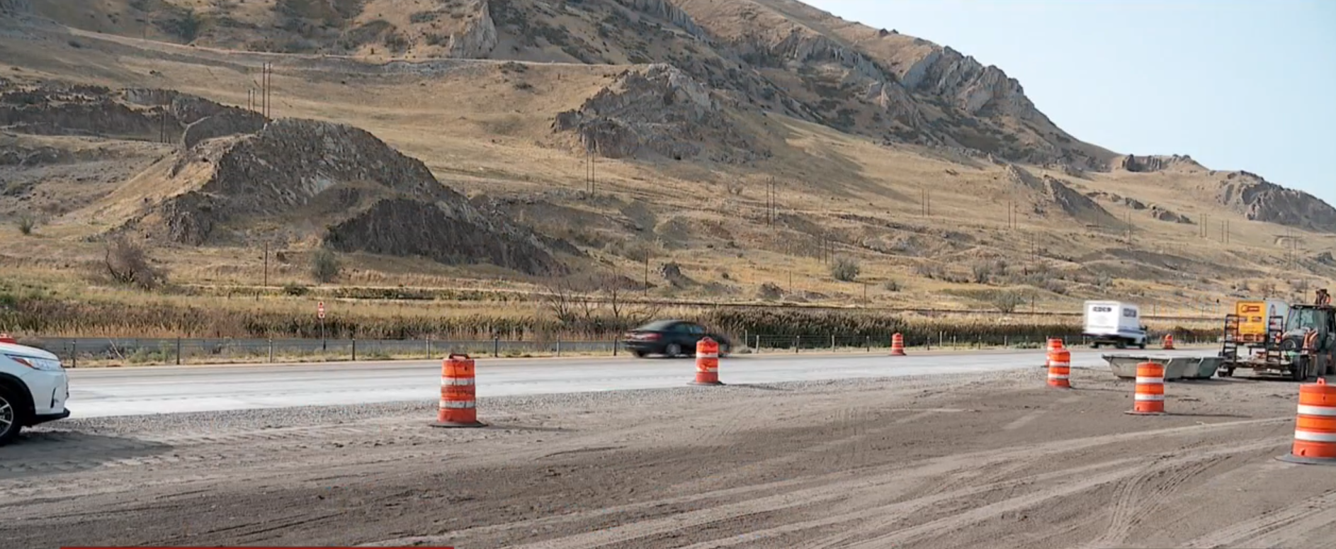 New I-80 westbound lane in Tooele County opens 6 months ahead of schedule (KUTV)