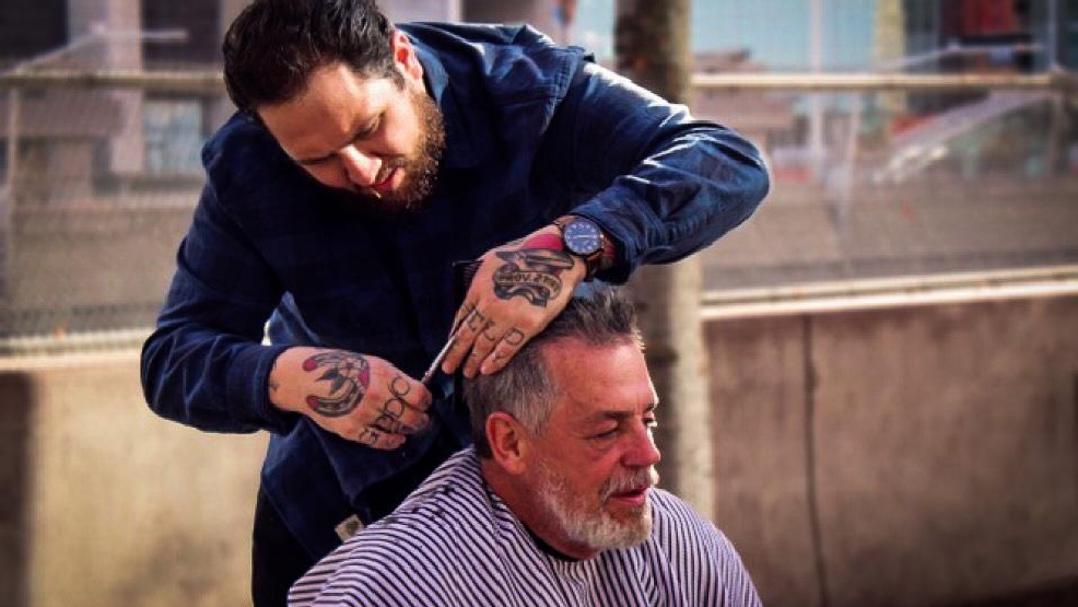 This Local Barber Is Giving Free Haircuts To The Homeless