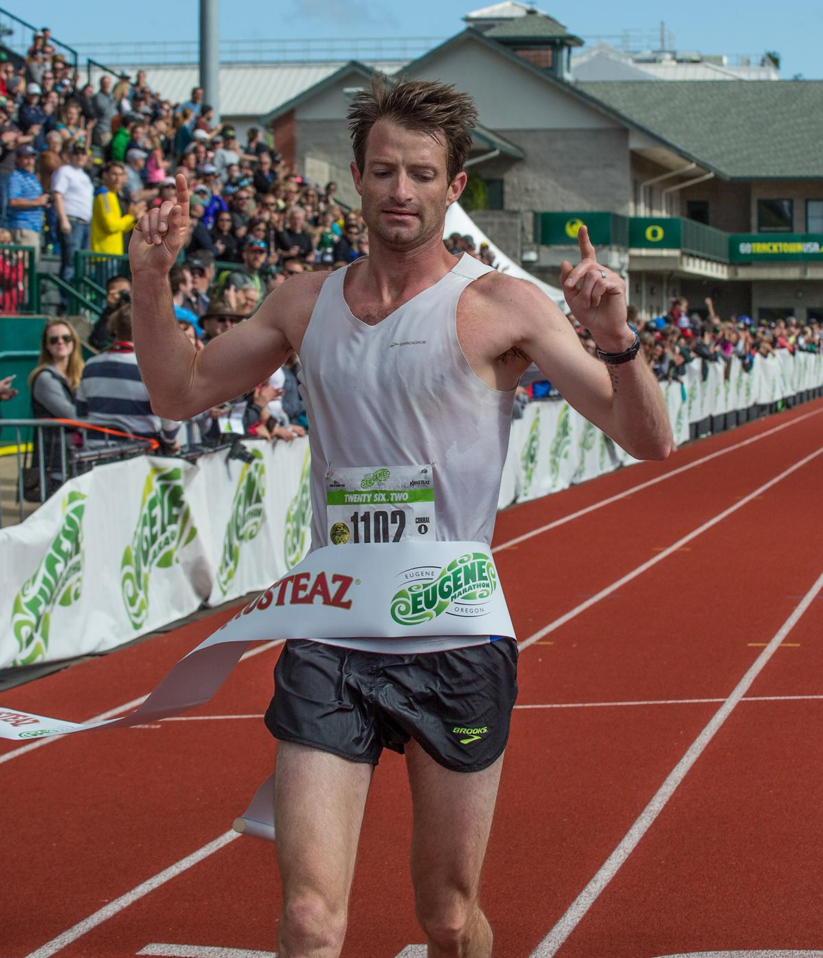 Photos: Runners Strive For Finish Line In 2017 Eugene