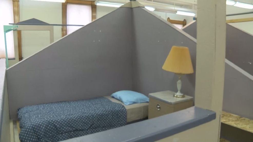 Temporary homeless shelter opens in KECI