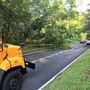 Summer storm downs trees and power lines in Montgomery County