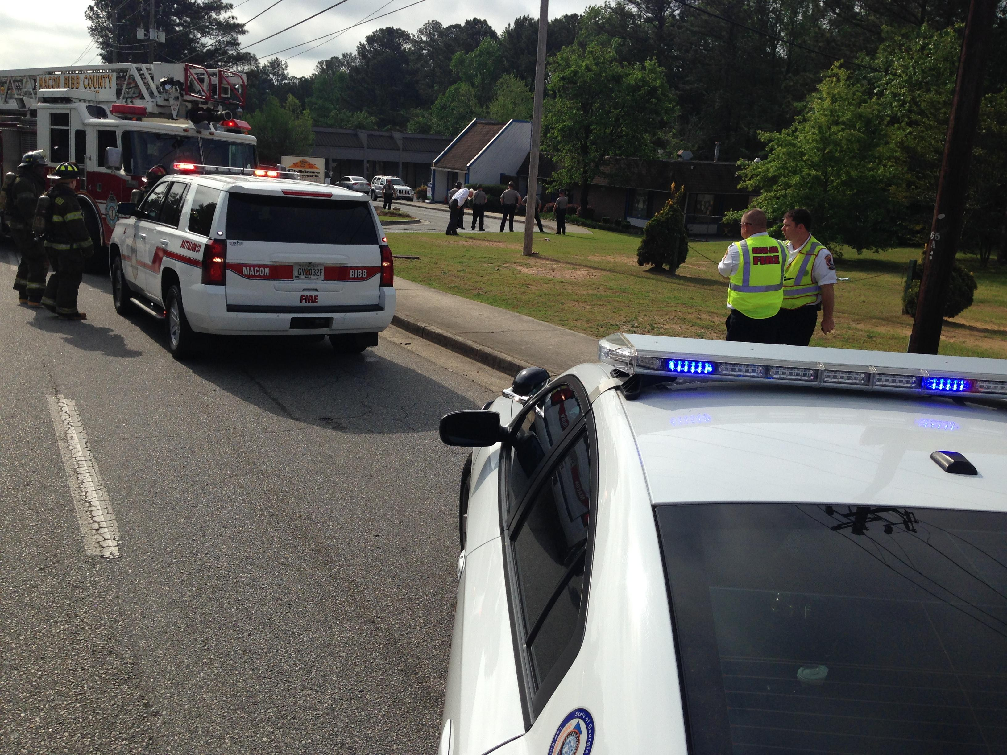 A Macon day care was evacuated Wednesday morning due to a suspicious package / Perry Smith (WGXA)