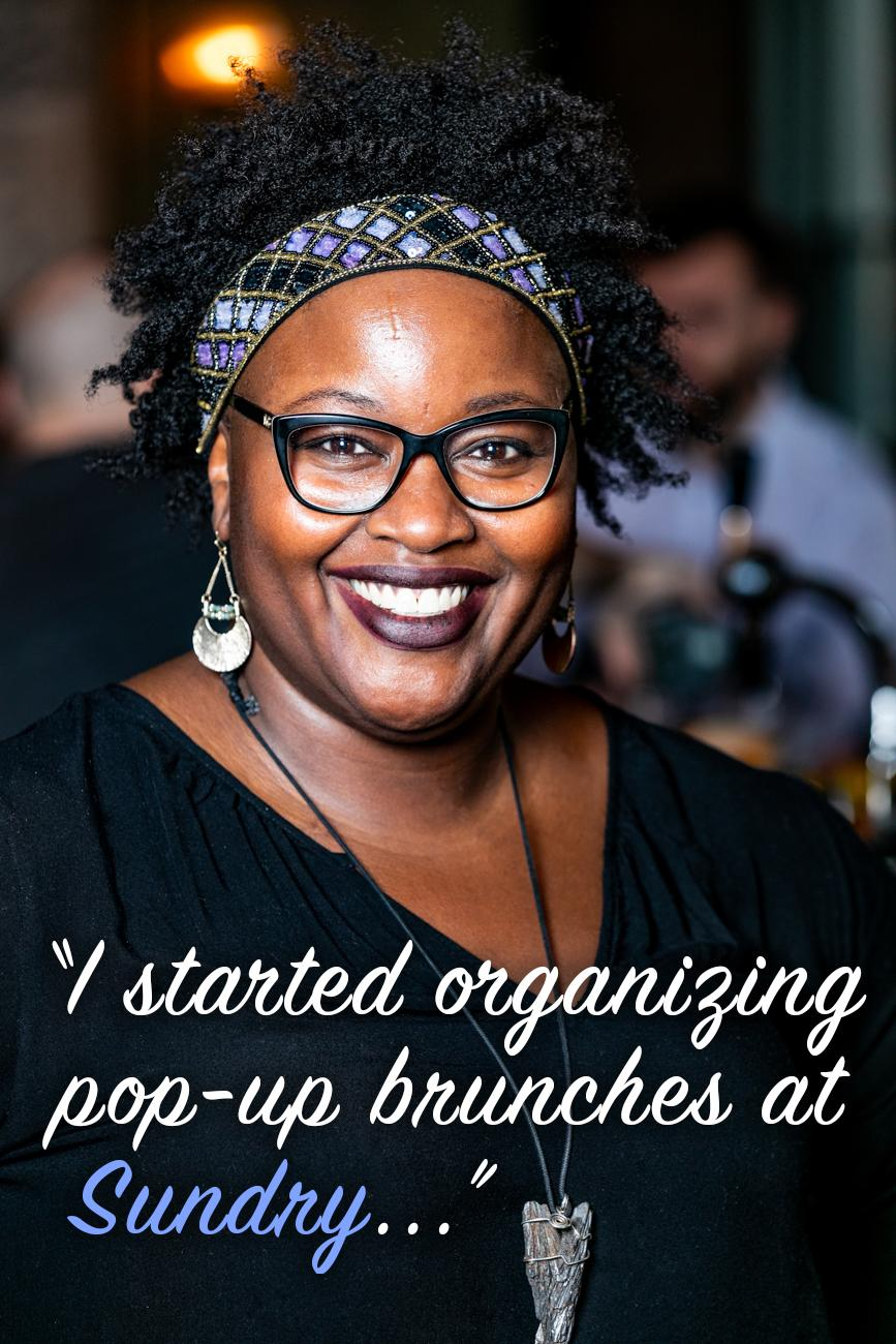 "CR: You are quite the chef. Can we ever try your food at Sundry? / Li: ""Absolutely! I started organizing pop-up brunches at Sundry a few months ago, selling food where each event's menu centralized on different cultural themes and locally-inspired dishes. Food, cooking, and developing delicious menus are true passions of mine. Partnering with the owners of Sundry and collaborating with my fellow bartenders on themed cocktails for these events has been such a great opportunity and blessing. Follow Sundry for more information on how you can join us for our next brunch!"" / Image: Amy Elisabeth Spasoff // Published: 2.26.19"
