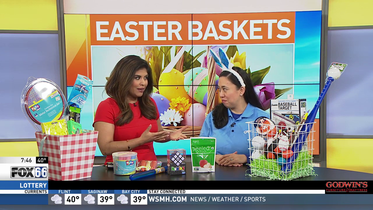 Dietitian Grace Derocha has creative ideas on how to make your child's Easter basket healthier.