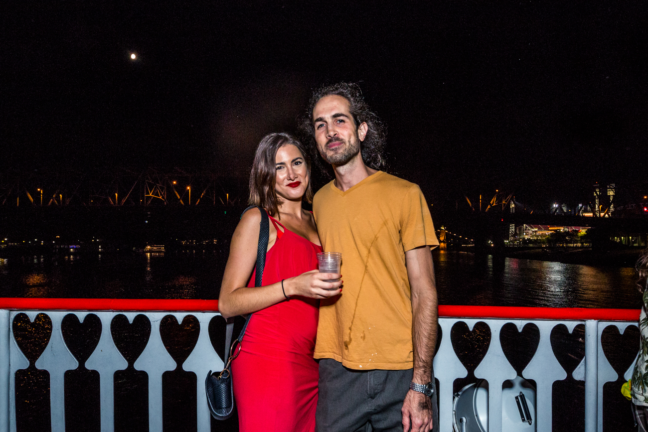 Paloma Ianes and Dan /{ }Image: Catherine Viox{ }// Published: 8.11.19