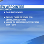 Governor selects new deputy chief of staff