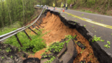 Road closed after crack develops into roadway slide on Highway 68 in Rhea County Tuesday